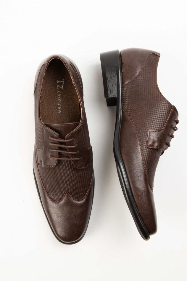 Zapato de vestir micrograbado...