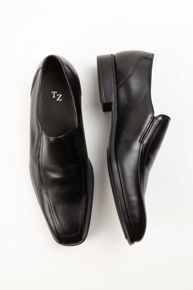 Zapato piel vestir sin cordoneras