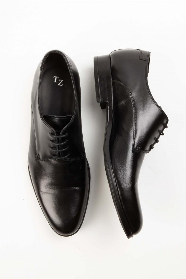 Zapato piel vestir tipo blucher
